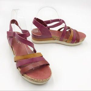 Pikolinos Ondara Platform Wedge Sandals Strappy